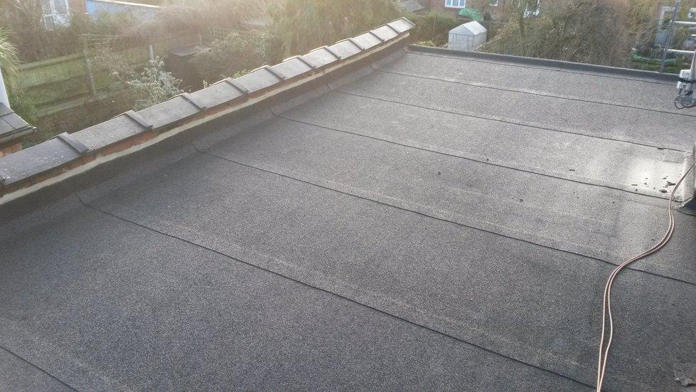 Flat Felt Roof