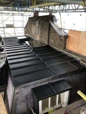 Flat Lead Roof. Mayfair Image 5